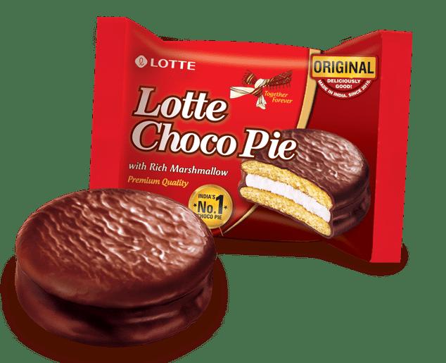 Lotte Choco Pie Rich Cocoapie